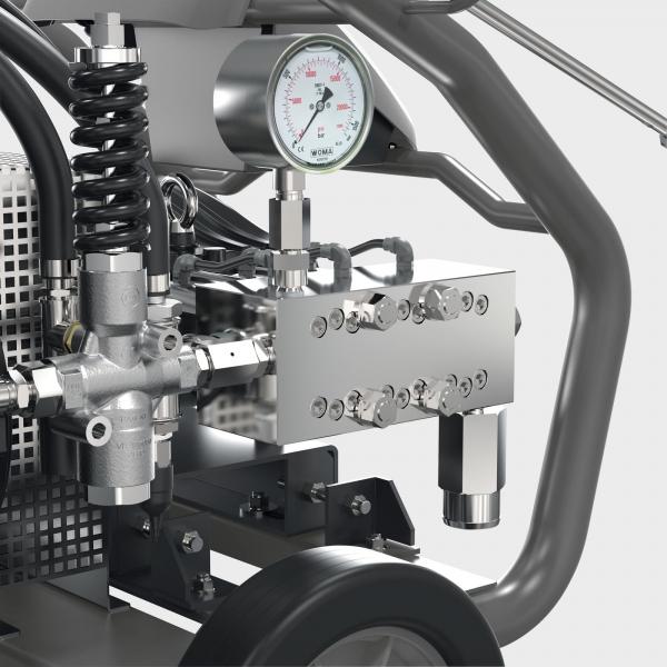 Аппарат сверхвысокого давления HD 9/100-4 Cage Classic