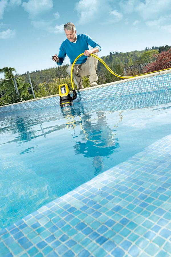Дренажный насос для чистой воды SP 6 Flat Inox