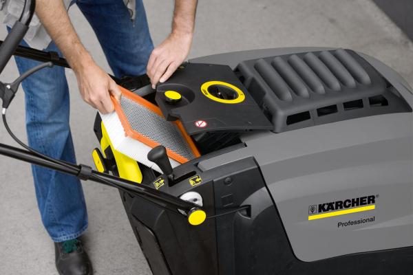 Подметально-всасывающая машина KM 75/40 W Bp Pack