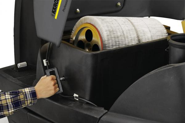 Подметально-всасывающая машина KM 100/100 R Bp Pack