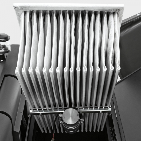 Подметально-всасывающая машина KM 130/300 R D Classic