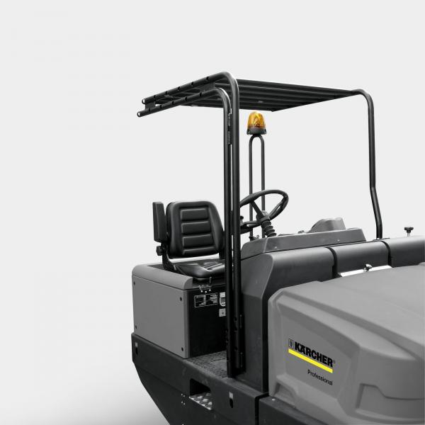 Подметально-всасывающая машина KM 130/300 R LPG