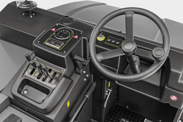 Подметально-всасывающая машина KM 150/500 R D Classic
