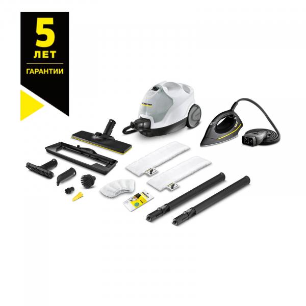 Пароочиститель с утюгом SC 4 EasyFix Premium Iron
