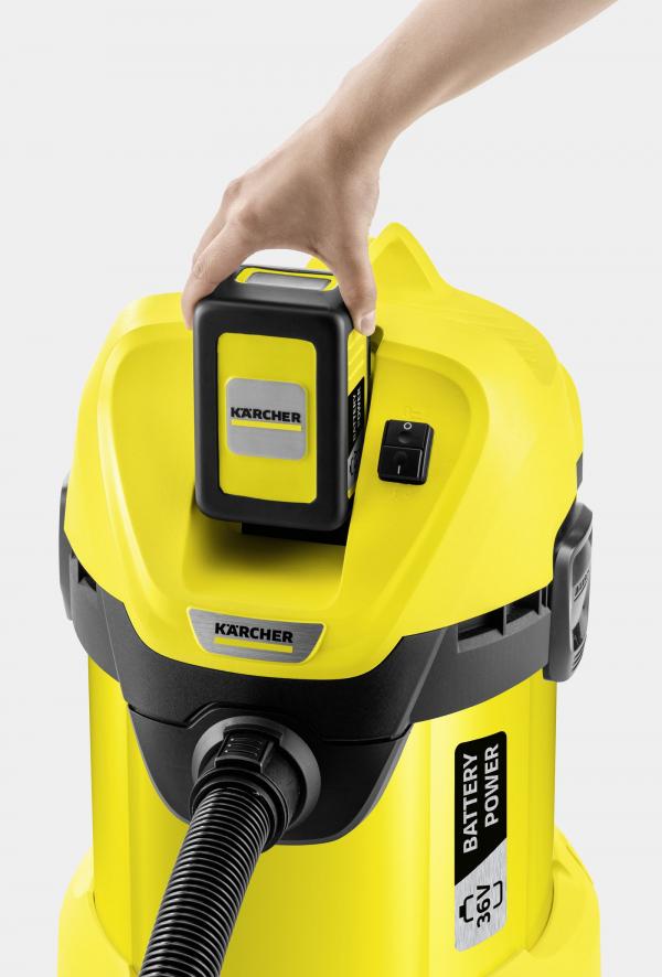 Хозяйственный пылесос WD 3 Battery
