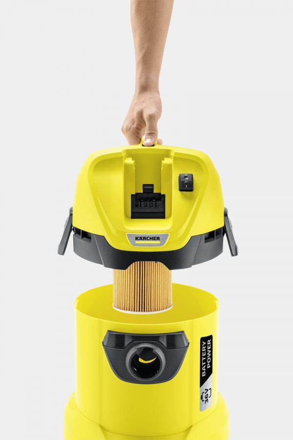 Хозяйственный пылесос WD 3 Battery Set